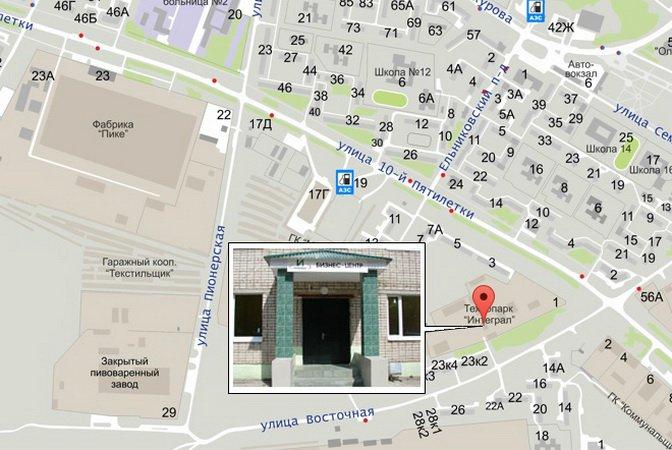 Карта с сайта www.cheboksary.